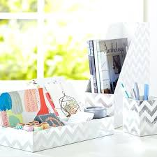 silver desks accessories printed paper desk accessories set metallic silver foil chevron silver mesh desk organizer