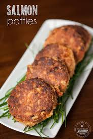 salmon patties made from wild caught canned salmon are an easy to make dinner