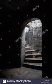 dark basement stairs. Stairs Leading To A Dark Cellar Or Basement