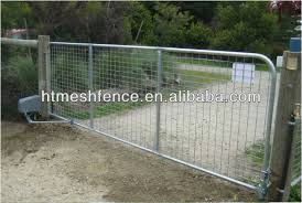 wire farm fence gate. Used Livestock Wire Mesh Welded Farm Metal Gates Fence Gate