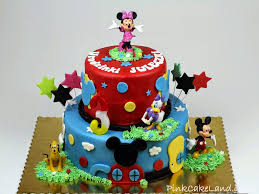 Best Cakes In Redhill Surrey Mickey Mouse Clubhouse Birthday Cakes