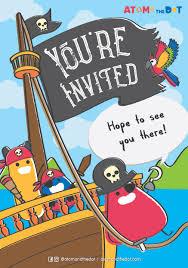 Party Invite Download Pirate Theme
