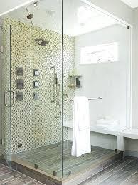 walk in shower tile large mosaic tiled walk in shower space walk in tile shower designs