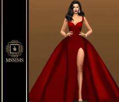 MSSIMS — KILLIN ME SOFTLY GOWN FOR THE SIMS 4 ACCESS TO... | Sims 4  dresses, Sims 4 wedding dress, Sims 4 mods clothes