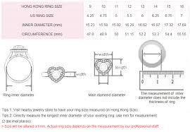 Ring size diameter | theweddingpress.com