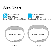 Fitbit Alta Hr Size Chart Fitbit Size Chart Alta Hr Buurtsite Net