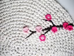 13 best photos of crochet rug with fabric patterns make crochet rh jemome com