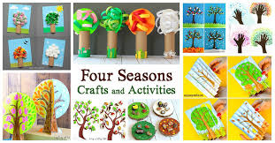 Seasons Chart Kindergarten 15 Of The Cutest Four Seasons Crafts And Activities For Kids