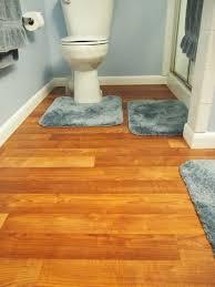 picture of bathroom linoleum flooring replacement project
