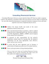 Pharmacist Consultant Consulting Pharmacist Services Pdf