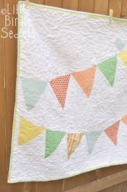 It's finally done! I made this simple banner (bunting) quilt for ... & Baby bunting Adamdwight.com
