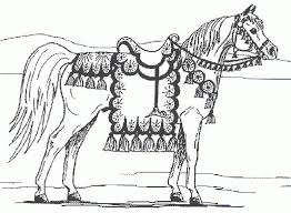 Small Picture Realistic Horse Coloring Pages Online Coloring Pages