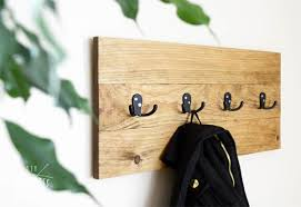 Diy Wood Coat Rack DIY Easy Wooden Coat Rack DIY Huntress 45