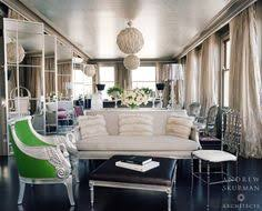 living room with a voluptuous crown molding photographer lisa romerein contemporary