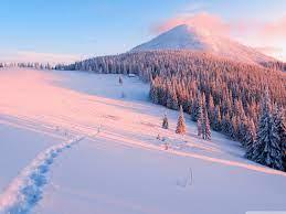 Winter, Nature Ultra HD Desktop ...