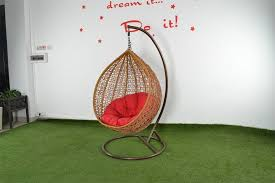 image of hanging nest chair