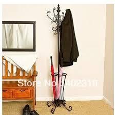 Rod Iron Coat Rack Professional selling umbrella standrackwrought ironmetal coat 86