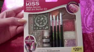 Opening New Kiss Salon Secrets Nail Art Starter Kit - YouTube