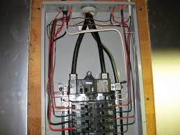 main breaker box wiring diagram electrical sub panel wiring how to install a circuit breaker panel at House Breaker Box Wiring Diagram