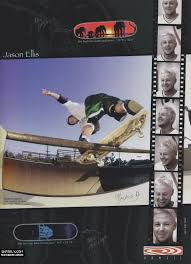 jason ellis skateboarding. powell peralta - new jason ellis graphics ad (1999) skateboarding c