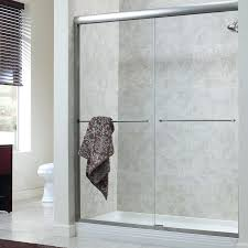 frameless shower door x bypass shower door frameless glass shower door cost estimate