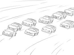 Small Picture NASCAR Racing coloring page Free Printable Coloring Pages