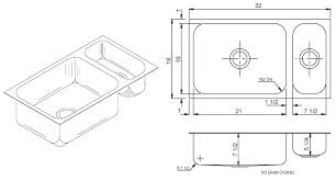 kitchen sink measurements kitchen sink dimensions