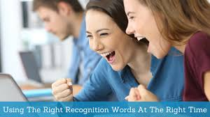 Recognition Sayings Finding The Right Words For Every