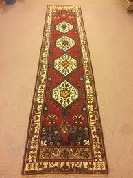 2 11x12 3 feet narrow wool on wool red rug runner ethnic rug runner vintage