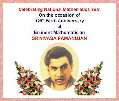 dr s n prasad mysore the mathemagical genius of srinivasa  the mathemagical genius of srinivasa ramanujan commemorating 125 years of infinite excitement