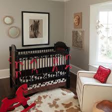 image of western baby boy crib bedding