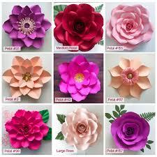 Paper Flower Designs Pin On Diy Paper Flowers