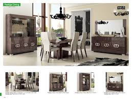 italian lacquer dining room furniture. dining room furniture modern formal sets prestige italian lacquer