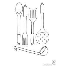 Disegno Di Cucinare Da Colorare Per Bambini