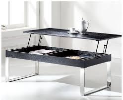 modern black lift top coffee table