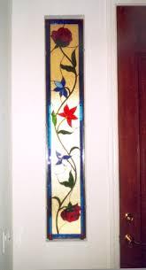 jacobean pattern in sidelights