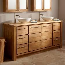 bamboo bathroom vanity. Bamboo Bathroom Vanity 30 Narrow Depth Taren Vessel Sink