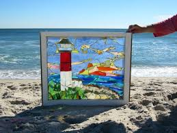 stained glass mosaic original stained glass mosaic art made from vintage window frames salvaged from historic
