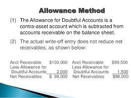 allowance for uncollectible accounts balance sheet 08