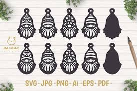 Assembly video for the free flourish ornament card svg design. Free Svgs For Faux Leather Earrings