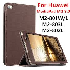 case for huawei mediapad m2 8 0 protective smart cover leather tablet for huawei m2 801w 801l m2 803l m2 802l cases puprotector