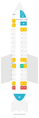 Seat Map Embraer Erj 140 Erd American Airlines Find The