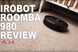 irobot roomba 980 review smart robot vacuum