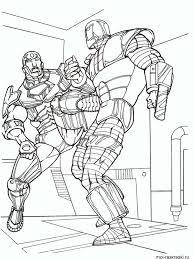 Iron man is a fictional character, a superhero in the marvel comics universe. Iron Man Coloring Pages For Boys Page 1 Line 17qq Com