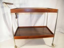 Vintage Metal Kitchen Cart Vintage 1960s Mid Century Salton Hotray Warming Serving Buffet