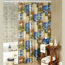 lake shower curtain live love lake shower curtain multi warm x lake cabin shower curtains