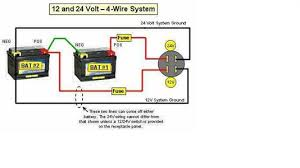 trolling motor batteries with 4 wire system how to hook up a 24 volt battery system at 24 Volt Onboard Charger Wiring Diagram