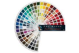 Resene Paint Chart Paint Fandeck The Range Fashion Colours By Resene Paints