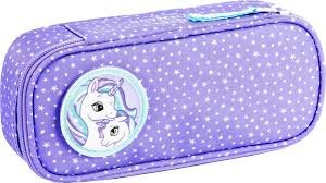 <b>Пенал</b> овальный к рюкзаку 22л Classic Purple <b>Unicorn</b>