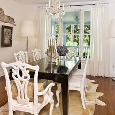 white chippendale chairs view full size eclectic dining room